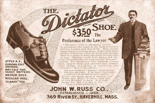 The Dictator Shoe