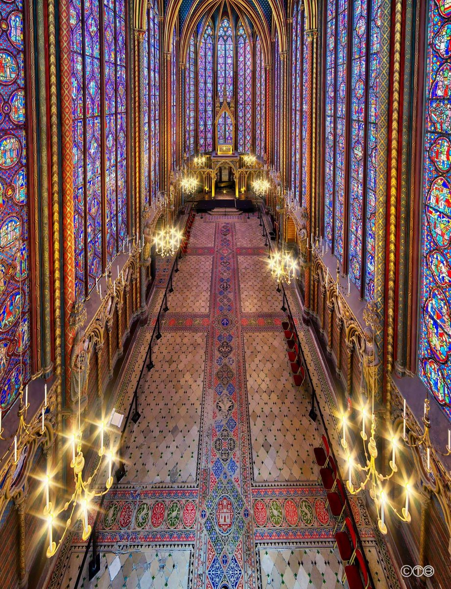 Ste. Chapelle, Paris