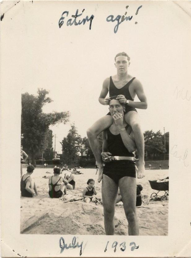 Men's swimwear, 1932