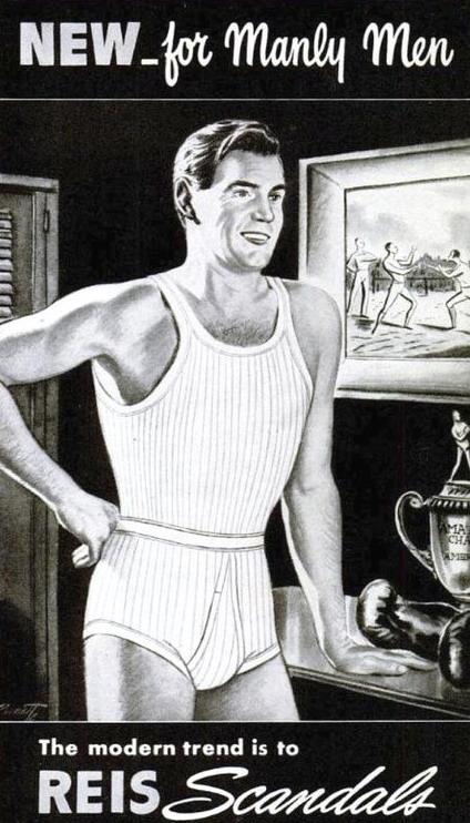 Underwear for manly men(1930s?)