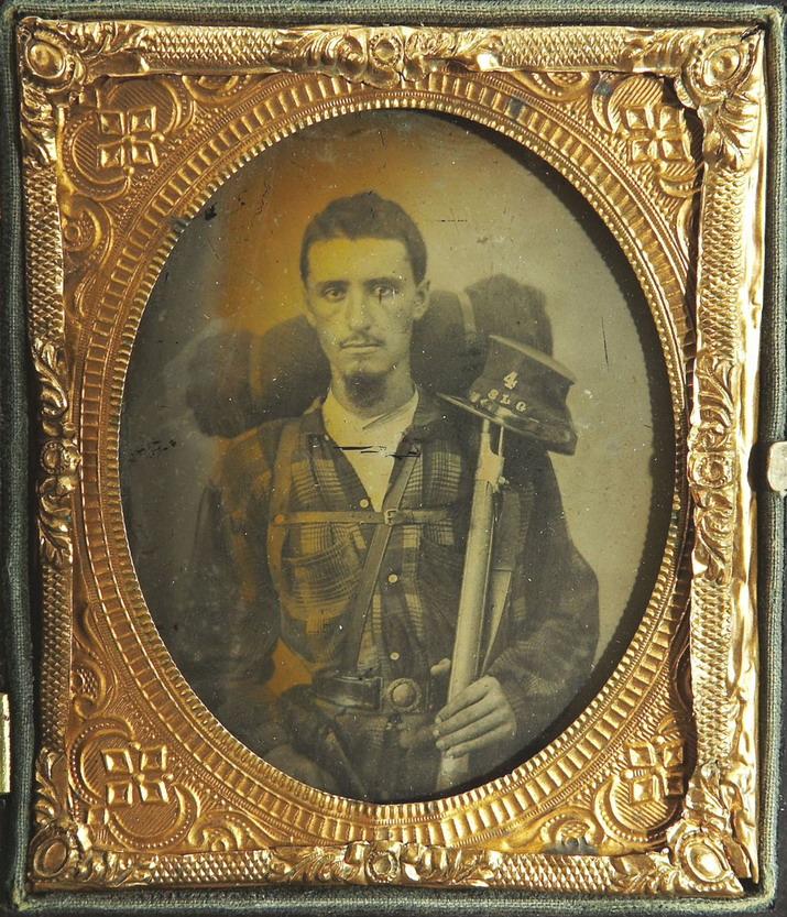 US Civil War soldier,1860s