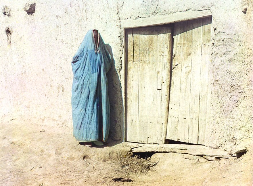 Woman in Uzbekistan,1910s