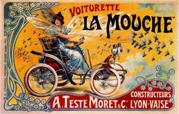Voiturette La Mouche,France
