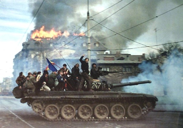 The fall of the communist regime in Romania,1992