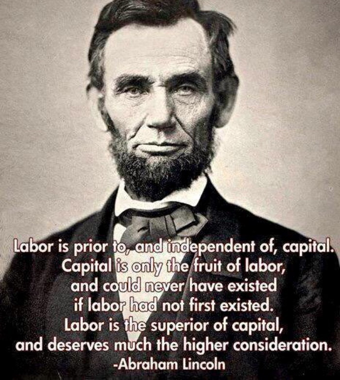 Abraham Lincoln, that wild n' crazy Marxist-Leninist