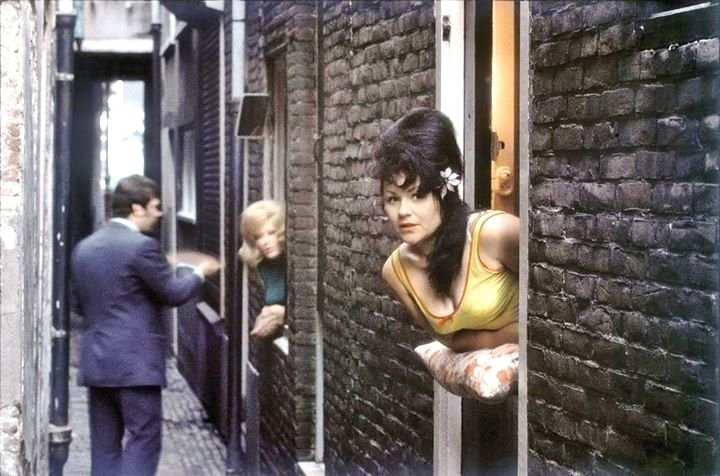 Prostitution, Amsterdam, 1960s