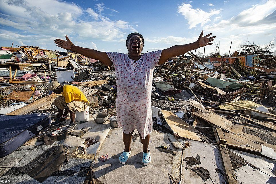 The total destruction of those two islands in the Bahamas by Hurricane Dorian isheartbreaking