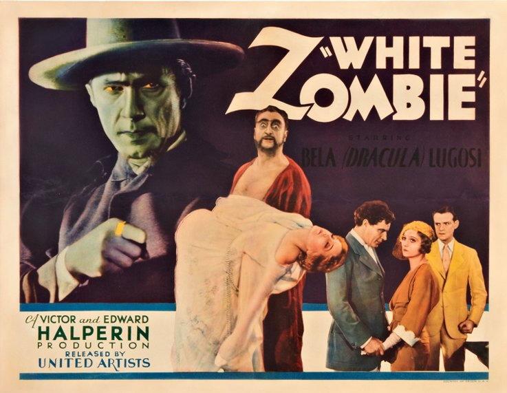 """Bela Lugosi in """"White Zombie"""",1932"""