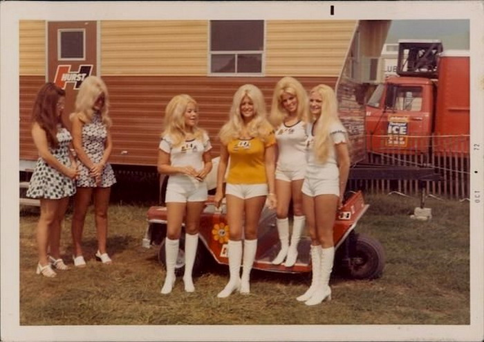 Big hair, short shorts, and go go boots(1972)