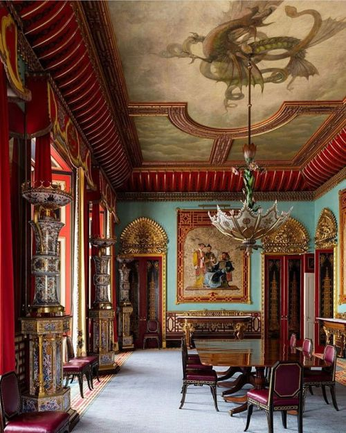 The Chinese Dining Room, Buckingham Palace,London