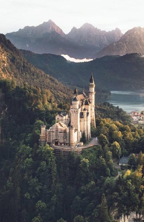 Castle, Bavaria, Germany