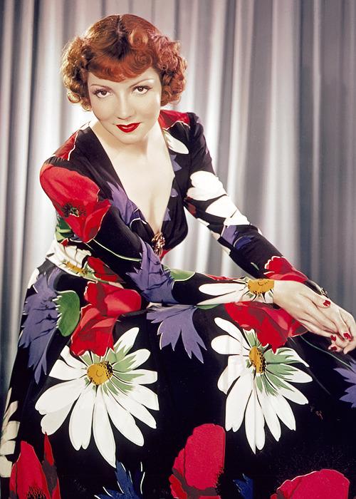 Claudette Colbert by James Doolittle, circa1940