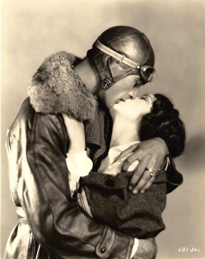 "Gary Cooper and Fay Wray in ""The Legion of the Condemned"", 1928"