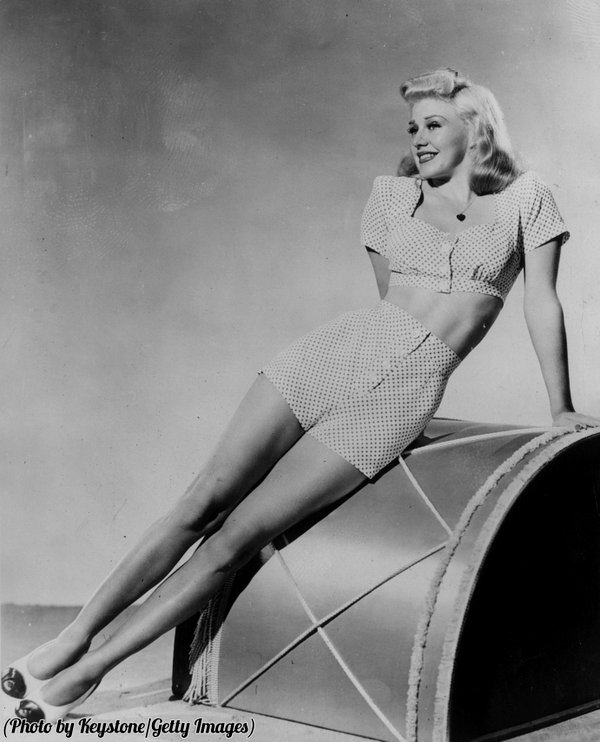Ginger Rogers and hergams