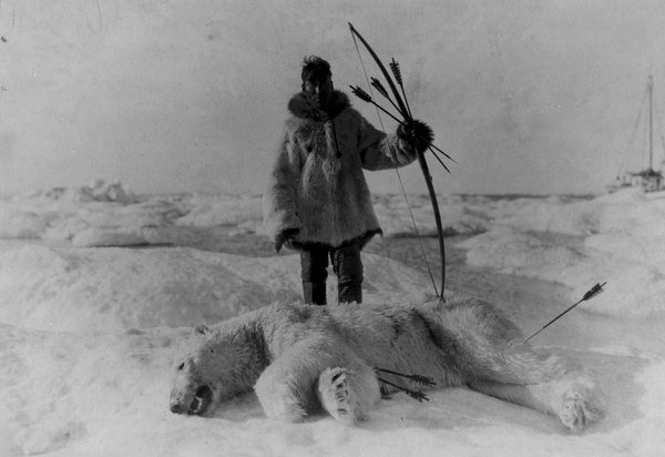 Inuit Hunter, early 1900s