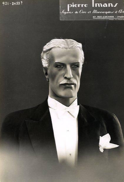 Silver daddy mannequin, Paris,1930s