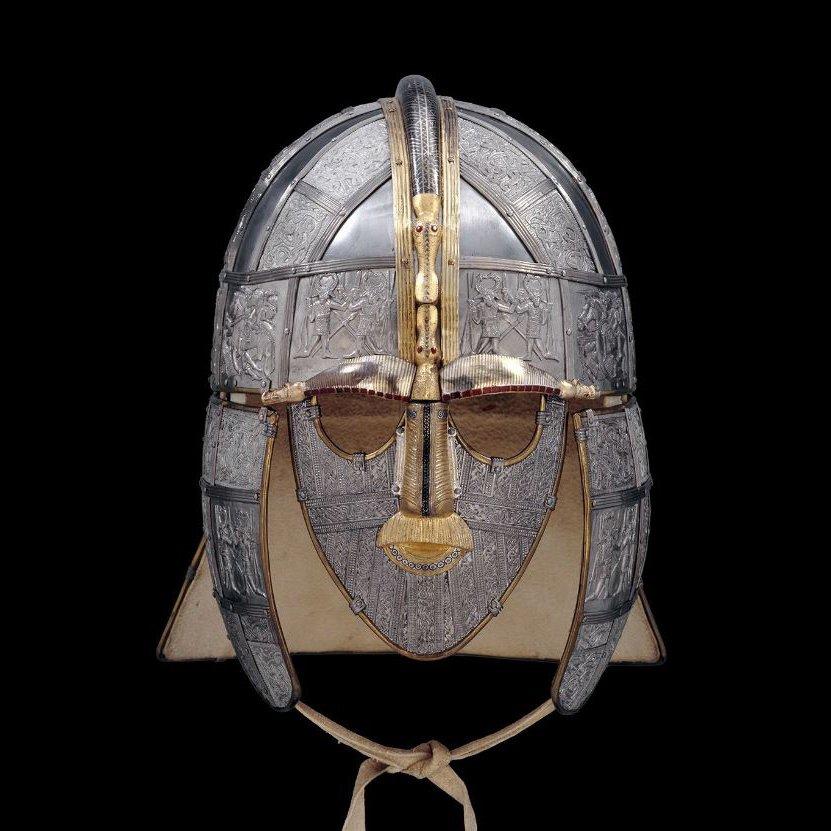 The Sutton Hoo Helmet,UK