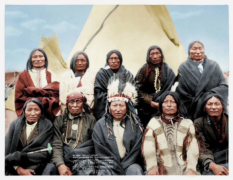 Native North Americans, circa 1905