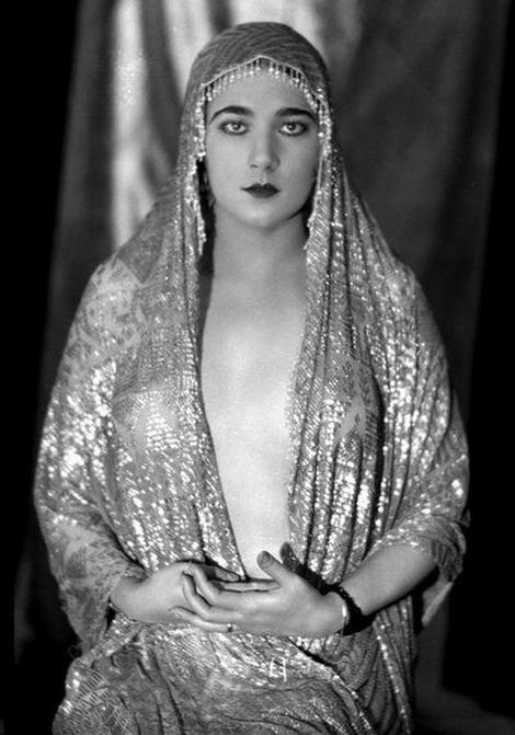 Nita Naldi, silent film vamp,1920s