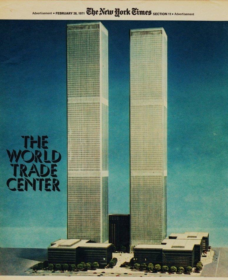 The World Trade Center,1971