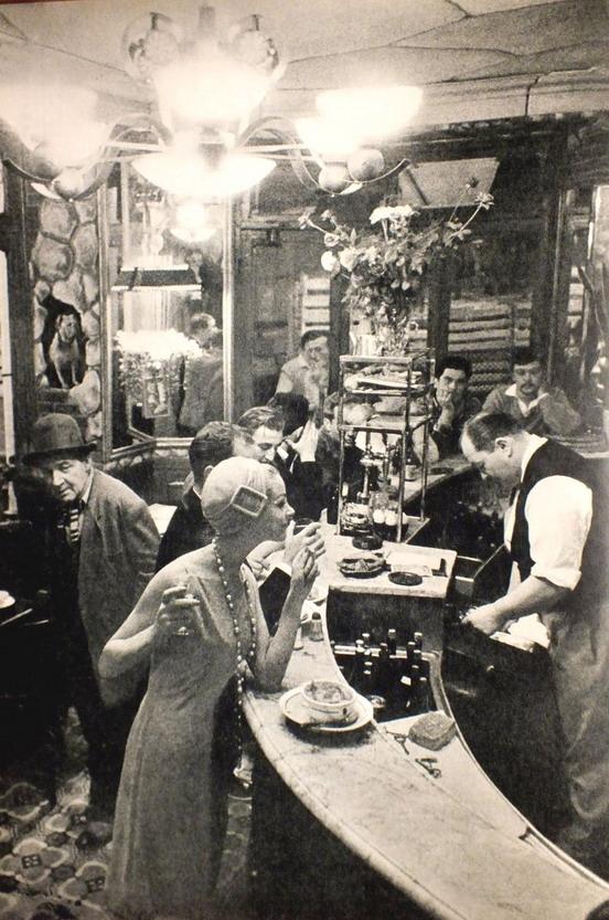 Paris cafe, 1950s