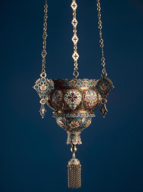 Russian lamp, 1800s