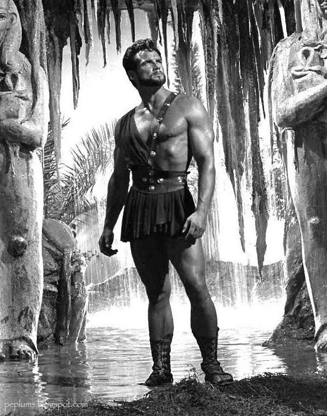 """Steve Reeves in """"Hercules"""", 1950s"""