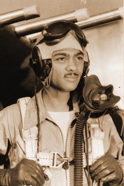 One of the Tuskegee Airmen, WWII