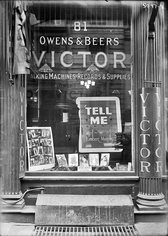Victor Talking Machines & Records, NYC, circa 1920