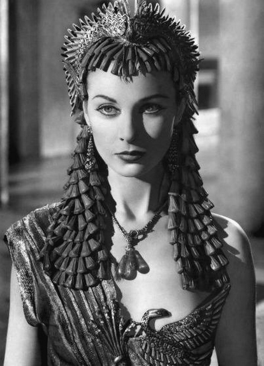 Vivien Leigh as Cleopatra, 1940s