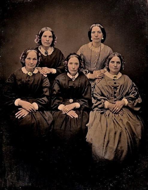 Women, 1850s