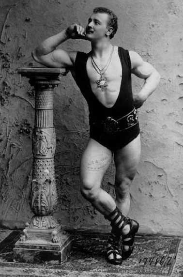 Wrestling champ, 1800s