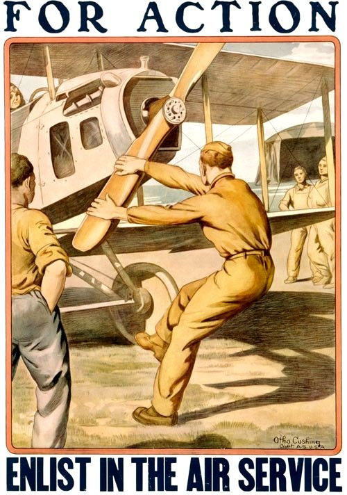 For action – enlist in the Air Service!(WWI)