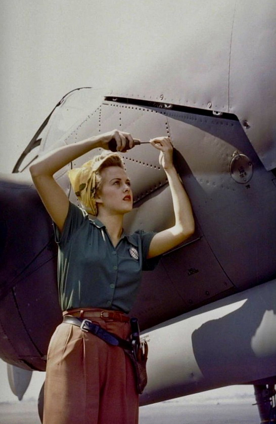 Riveter, US, WWII