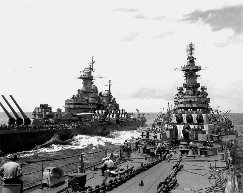 US Ships in the Pacific,WWII