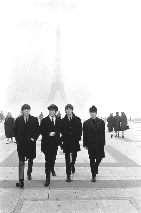 The Beatles, Paris, circa1963