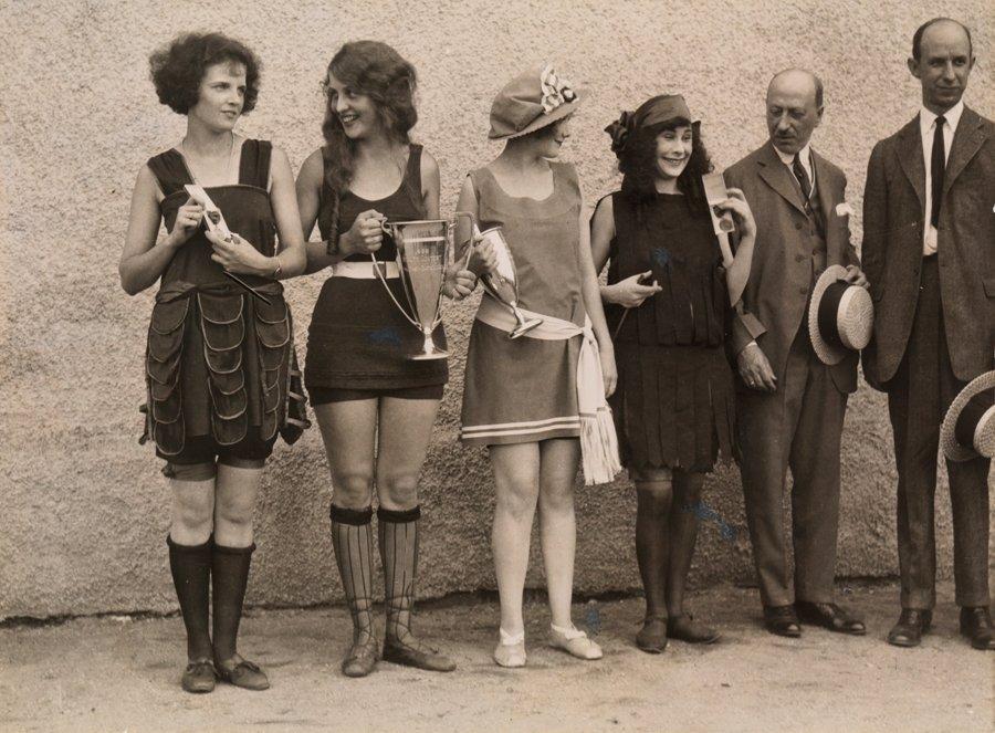 Beauty contest, 1920s