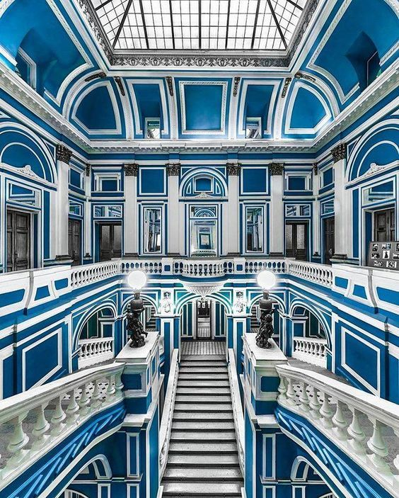 The Blue Palace