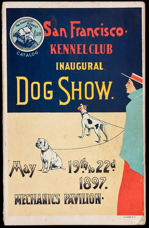 Dog Show, San Francisco,1897