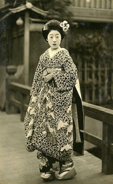 Geisha, Japan, early1930s