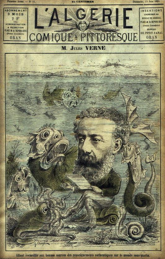 Jules Verne, 1880s