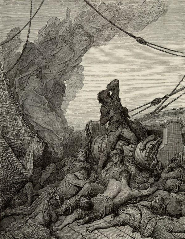 One of the Ancient Mariner illustrations by Gustave Dore