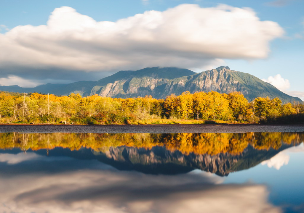 Mountains in Autumn, photo by John Westrock