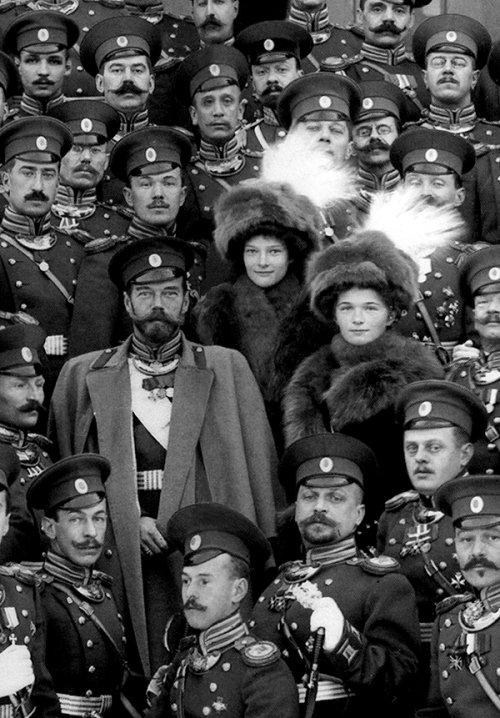 Tsar Nicholas II andcompany