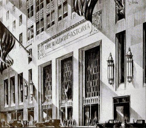 Waldorf-Astoria Hotel, NYC,1920s