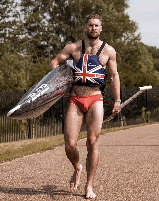 British athlete Matthew JamesLister