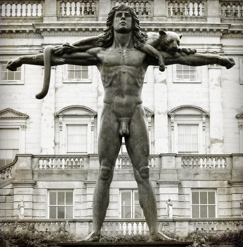Statue of Orpheus, Harewood House, England