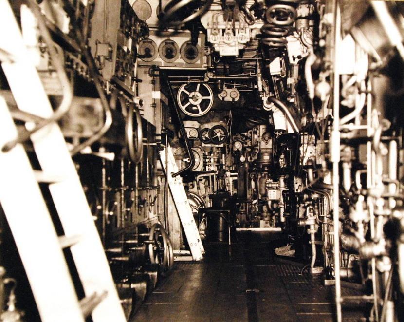 Inside the German Navy cruiser Prinz Eugen,WWI