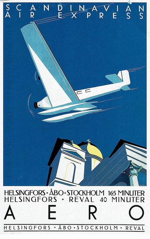 Scandinavian Air Express,1930s