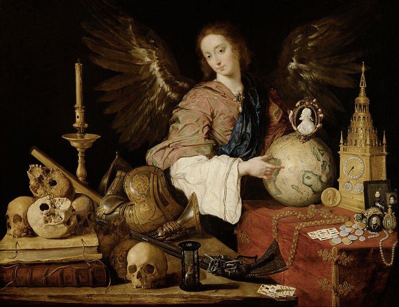 """""""Allegory of Vanity at Vanitas"""" by Antonio dePereda"""